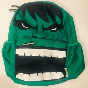 NEW! Marvel Comics Gap Avengers Hulk Face Backpack
